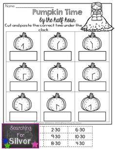 FALL Math Packet for FIRST GRADE. Fun activities for a lot of math practice!