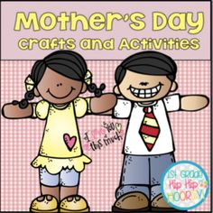 May brings the celebration of Mother's Day! This packet includes word work, writing, comprehension, reading suggestions, and crafts for m. Uk College, Mother's Day Projects, Quick And Easy Crafts, Craft Day, Mothers Day Crafts, Word Work, Guided Reading, Mini Books, Special Day