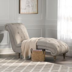 Shelly Tufted Chaise