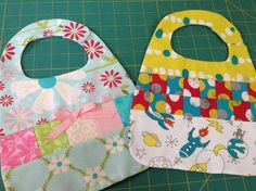 (9) Name: 'Sewing : Sweet and Scrappy Baby Bibs