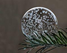 Voici ce qui arrive lorsque l'on fait des bulles de savons dans le froid glacial