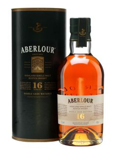 Aberlour 16 Year Old / Double Cask :: Speyside Single Malt Scotch Whisky... Another very good value; smooth.