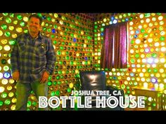How To Make A Glass Bottle Wall - YouTube