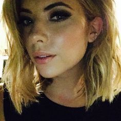 Love the smokey eye on Ashley Benson! | Pretty LIttle Liars