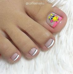 Pedicure Spa, Manicure And Pedicure, Hello Nails, Magic Nails, Nails For Kids, The Beauty Department, Feet Nails, Neutral Nails, Toe Nail Designs