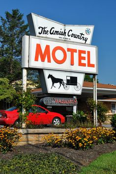 Vintage Motel sign | Vintage Motel Sign - Bird-in-Hand, Pennsylvania | Flickr - Photo ...