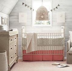 Nursery Decor {and we don't know if it's a girl or a boy restoration hardware cribs Nursery Room, Girl Nursery, Nursery Decor, Nursery Ideas, Sheep Nursery, Room Decor, Rustic Nursery, Nursery Neutral, Nursery Colours