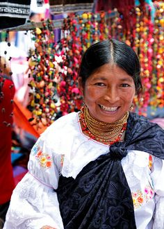 So colorful and beautiful! Otavalo, Ecuador