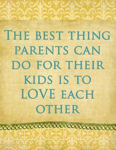 Parents love