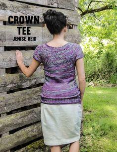 Crown Tee knitting pattern