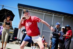 The most senior athlete at the San Diego Senior Olympics, Don Pellmann, became the first centenarian to break 27 seconds in the 100 meters on the way to five age-group records.