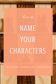 """When it comes to naming a character in your novel, there's quite a bit of pressure. S0 do you pour hours of research into choosing the perfect fit? Or do you play """"eeny, meeny, miny moe,"""" and just pick one?"""