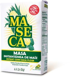 MASECA® Corn Flour- delicious homemade tortillas and fun to experiment with as well. i made a great topping for tamale pie that was even more tamale-like than cornbread!