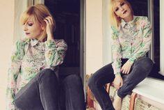 The cool pattern shirt Cool Patterns, Personal Style, Shirts, Tops, Women, Fashion, Moda, Fashion Styles, Dress Shirts