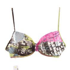 Schönes Bikini-Oberteil von La Perla in Blau, Schwarz & Pink Gr. 42 - NEU mit Etikett! Monokini, Pink, Retro, Swimwear, Fashion, La Perla, Tops, Bra, Bathing