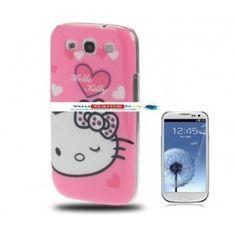 Funda protectora de Hello Kitty para Samsung Galaxy SIII / i9300 por un precio en oferta de 5.99 euros con envío GRATIS!!!. Muchas más ofertas en yougamebay.com, la tienda de telefonia barata y accesorios para Samsung galaxy S3. Fundas y carcasas de Hello Kitty para teléfonos móviles.  http://www.yougamebay.com/es/product/funda-protectora-de-hello-kitty-para-samsung-galaxy-siii--i9300
