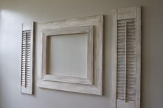 """Delta Girl Distressed Frames: """"how to"""" distressing shutters Distressed Shutters, Distressed Frames, Diy Projects To Try, Crafts To Do, Diy Crafts, Delta Girl, Diy Shutters, Back Pictures, Cool Diy"""