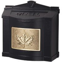 Gaines Leaf Wall Mount Locking Mailboxes