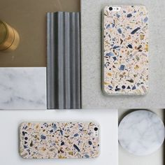 The blush terrazzo is subtle, feminine and full of warmth. Unlike anything else, the slim silicone case is finished with unique terrazzo patterns with raised ag Pebble Stone Flooring, Terrazzo Flooring, Vinyl Flooring, Kitchen Flooring, Penny Flooring, Dark Flooring, Linoleum Flooring, Rubber Flooring, Cheap Flooring Options
