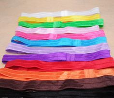 Headband Elastic  18 colors you can choose DIY for flower vintage headband Photo prop