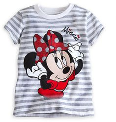 d4186c2a9c0b Minnie Mouse Striped Tee for Girls on shopstyle.com Cozy Pajamas, Sparkle  Shoes,