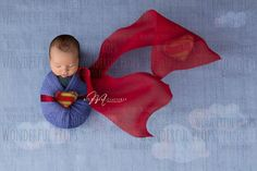 Superman Digital Newborn Photography Prop Backdrop - Superman - by Wonderful Props. Baby Boy Photos, Baby Images, Newborn Pictures, Baby Pictures, Newborn Photography Poses, Photography Props, Baby Boy Photography, Newborn Shoot, Baby Boy Newborn