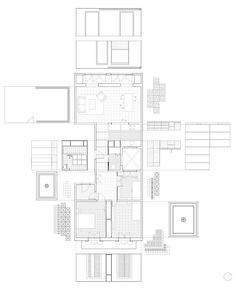 Image 14 of 17 from gallery of Reforma en Casp 63 / Carles Enrich Gimenez. Photograph by Carles Enrich Gimenez Paper Architecture, Architecture Graphics, Contemporary Architecture, Interior Architecture, Apartment Renovation, Line Drawing, Floor Plans, Diagram, Design Inspiration