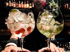 Alcoholic Drinks, Cocktails, Dapper, Singapore, Wine Glass, Magic, Rose, Tableware, Craft Cocktails
