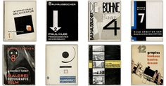 Beautifully-Designed, Downloadable Bauhaus Architecture Books