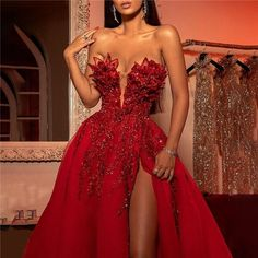 skyfely Big Dresses, Prom Girl Dresses, Glam Dresses, Prom Outfits, Backless Prom Dresses, Event Dresses, Strapless Dress Formal, Dress Outfits, Dinner Gowns