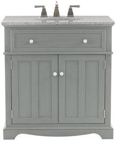 Aberdeen 36 Single Vanity Dove Gray Very Nice Pale Gray Bathrooms Pinterest Single