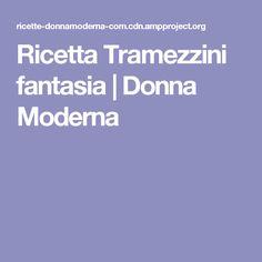 Ricetta Tramezzini fantasia   Donna Moderna