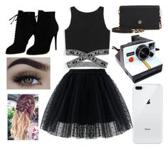 """Untitled #15"" by amcracea-1 ❤ liked on Polyvore featuring Chicwish, Tom Ford, Tory Burch and Polaroid"