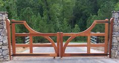 Surprising Custom Made Wooden Driveway Gates and custom wooden gate hinges