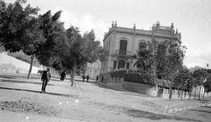 Aspecto de la Avda 25 de Julio en Julio de 1925. Fotografia de Fernando Perez Melian. Fuente FEDAC