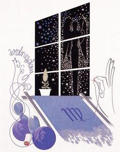 Virgo - Ŧhe Coincidental Ðandy: The Prolific Art, Illustrations & Designs of Erté