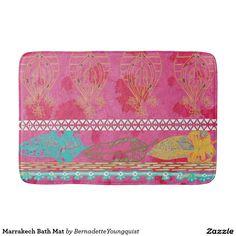 Marrakech Bath Mathttp://www.zazzle.com/bernadetteyoungquist*