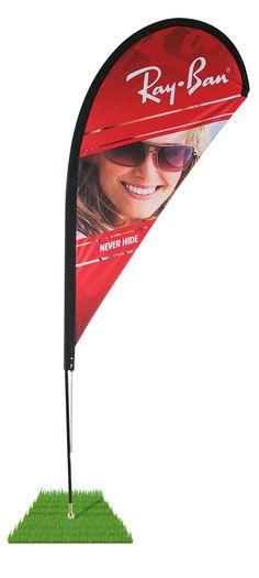 Wind Flags - 8' Tear Drop Wind Flag Kit