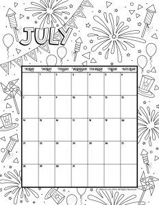 July 2019 Calendar #july #july2019 #july2019calendar