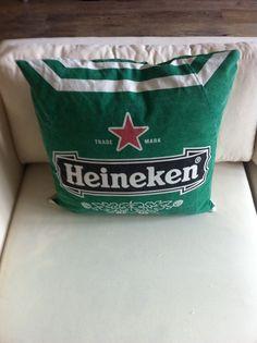 Heineken parasol cushion with down