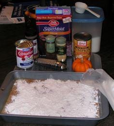 Pumpkin Dump Cake Recipe - Recipe for Pumpkin Dump Cake - Thanksgiving Dessert