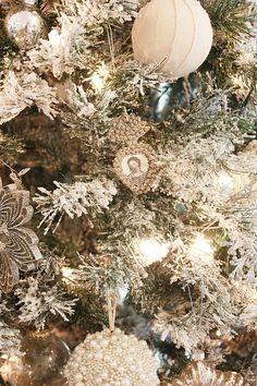 white vintage christmas  @Kiwi Kween & Patina