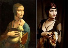 21 Modern Paintings using Traditional Art