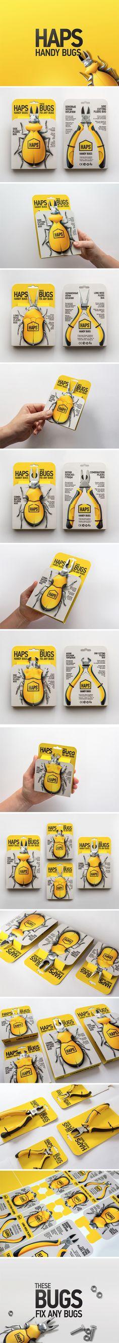 "Концепт промо-упаковки пассатижей для компании ""HAPS"""