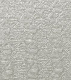 Red Tag Apparel Fabric- Lace Ivory