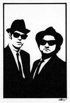 2b4bcf29674 Blues Brothers by GAttkins Blues Music
