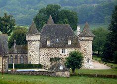 Château de Sourniac. Cantal. Auvergne