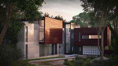 Wissioming2 / Robert M. Gurney Architect by Oleg Kuchmin, via Behance