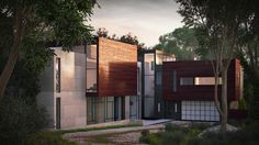 Wissioming2 / Robert M. Gurney Architect by Oleg Kuchmin, via Behance