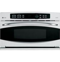 GE Profile Series Advantium® Wall Oven DIMENSIONS (HxWxD)  19 1/32 in x 29 25/32 in x 21 1/2 in   TOTAL CAPACITY  1.7 cu ft